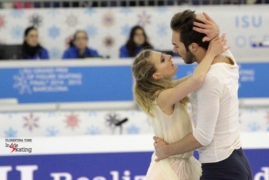 The French Gabriella Papadakis and Guillaume Cizeron - and their free dance to Mozart
