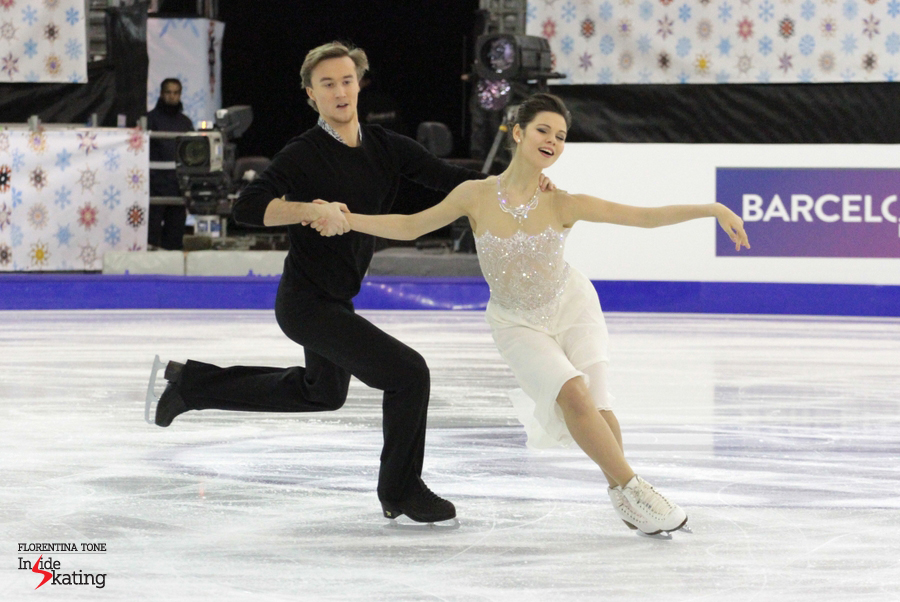 "Elena Ilinykh and Ruslan Zhiganshin are skating to Appassionata by Secret Garden and to music from ""Cleopatra"" soundtrack"