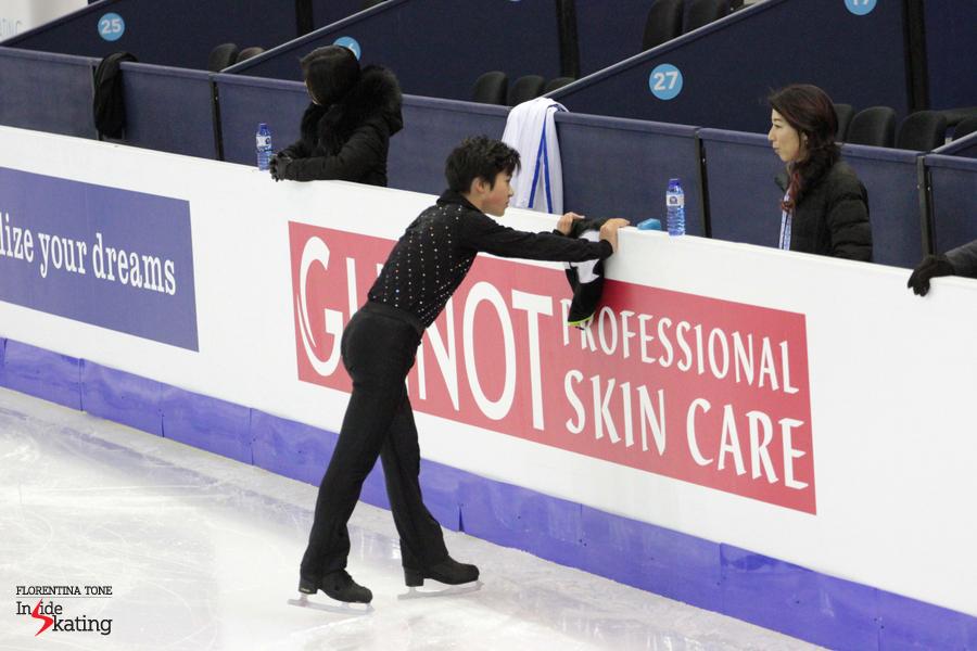 Words of encouragement from coach Mihoko Higuchi