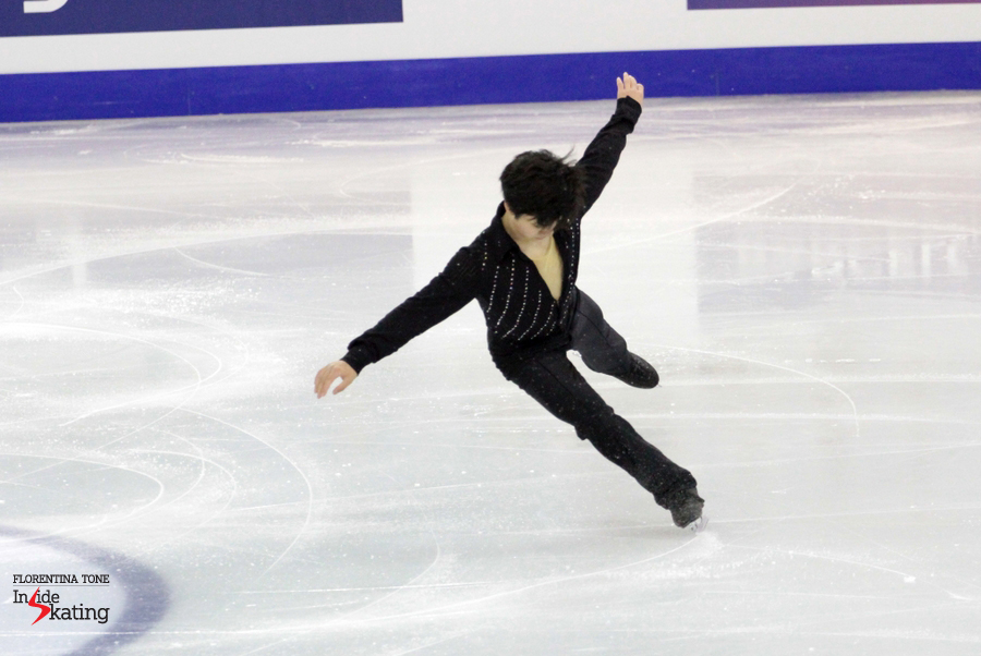 ...and he did skate brilliantly in the final