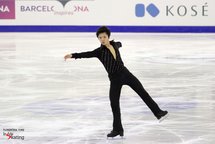 Shoma Uno as Don Juan de Marco in Barcelona, at 2014 Grand Prix Final
