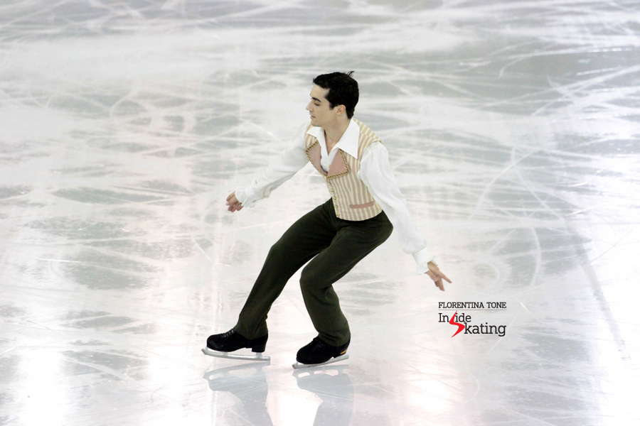 Javier Fernandez as The Barber of Seville (2014 Grand Prix Final in Barcelona)