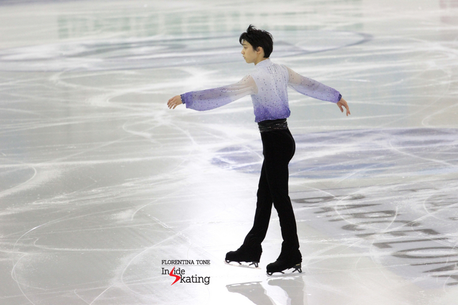 Chopin's music was definitely with Yuzuru Hanyu on December 12th, the short programs' day