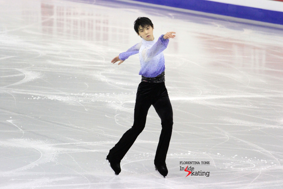 Yuzuru skating to Chopin 2