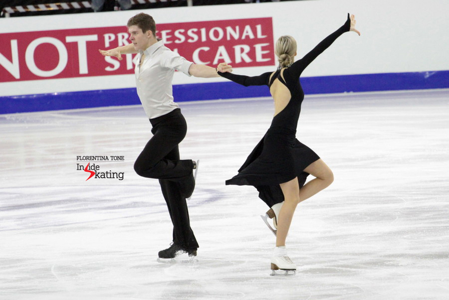 "Sergey Mozgov: ""We were just happy that we skated our free dance better than at the Junior Grand Prix events"""
