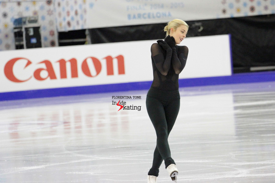 Last practice before the free skate (December 13th)