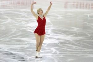 "Ashley Wagner: ""I'm 23 and going after an Olympic podium, that's my dream"""