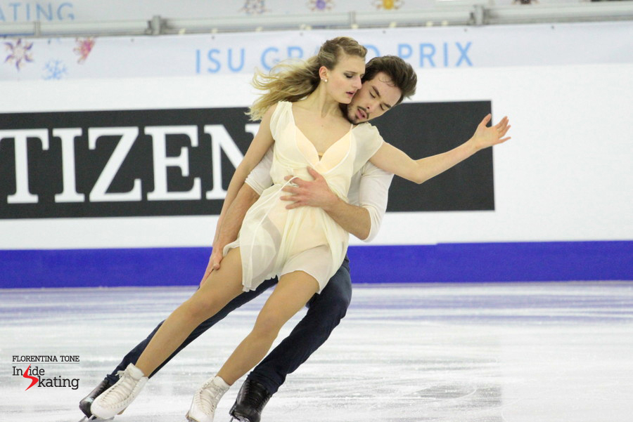 Gabriella Papadakis and Guillaume Cizeron - and their wonderful free dance in Barcelona, at the Grand Prix Final