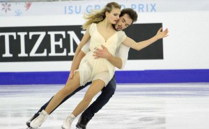 Gabriella Papadakis and Guillaume Cizeron, aiming for the podium in Stockholm