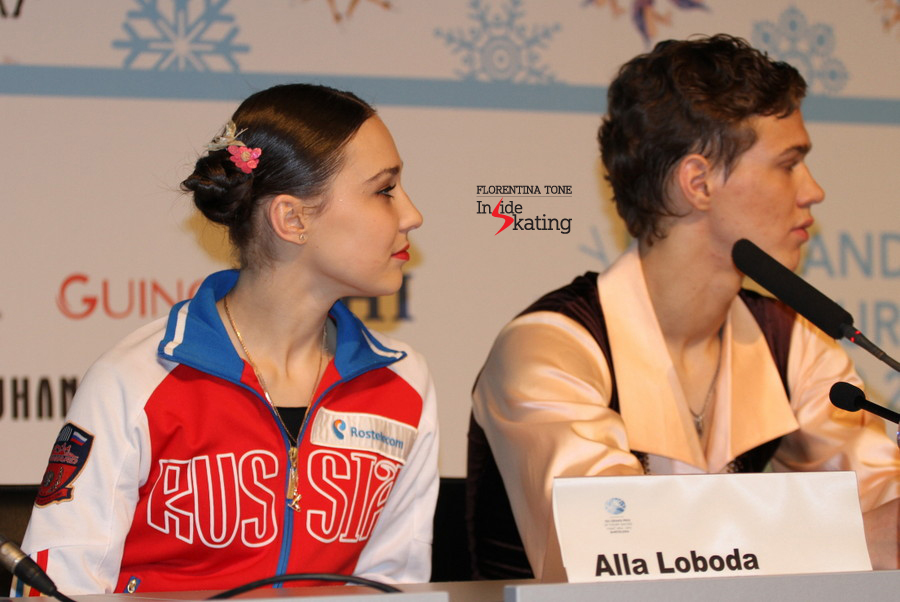 Alla and Pavel