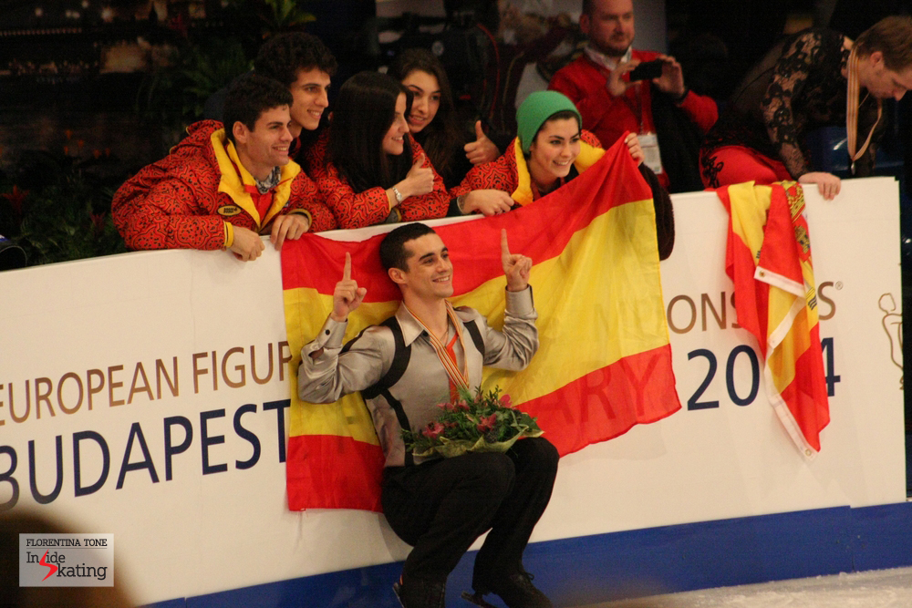 The Spanish team in Budapest