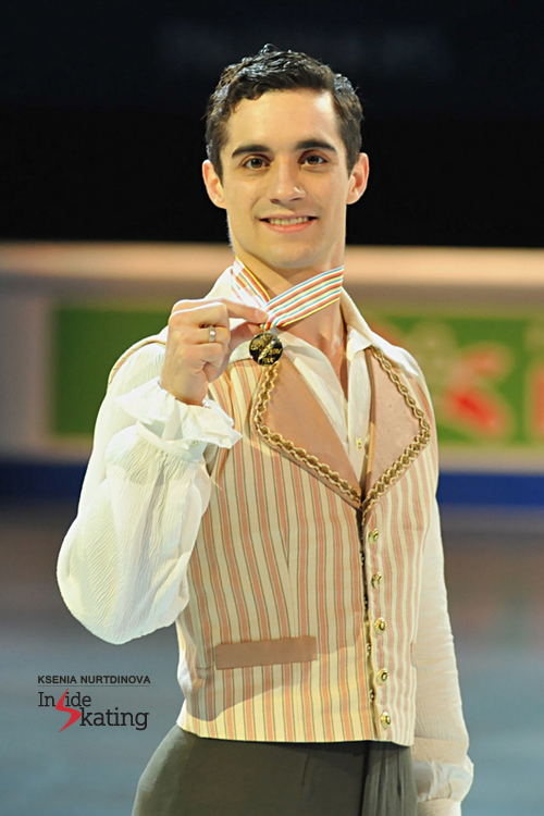 With his third European gold, Javier Fernandez continues to make history for Spain