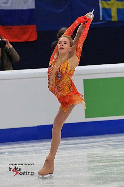 Anna Pogorilaya as the Firebird 1