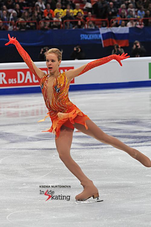 Anna Pogorilaya skating to Stravinski's Firebird in Stockholm