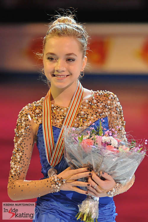 Silver for Elena Radionova in her debut at the Europeans