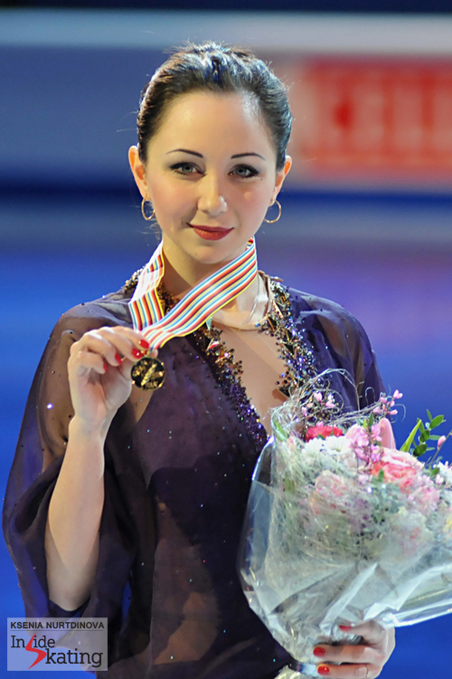 A golden medal for a golden girl: Elizaveta Tuktamysheva, 2015 European Champion