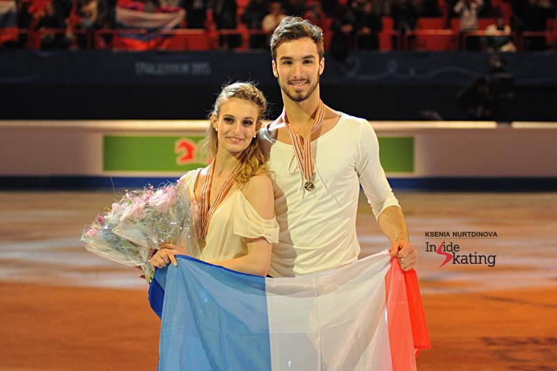 Gold in Stockholm, at 2015 Europeans, and a wonderful season so far for Gabriella Papadakis and Guillaume Cizeron