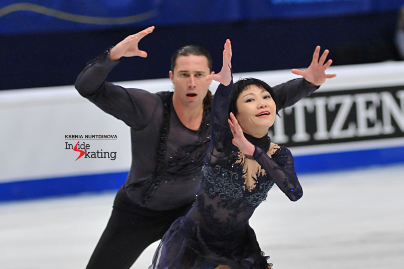 This program, skated with intensity and emotion, was definitely the highlight of the pairs event in Stockholm