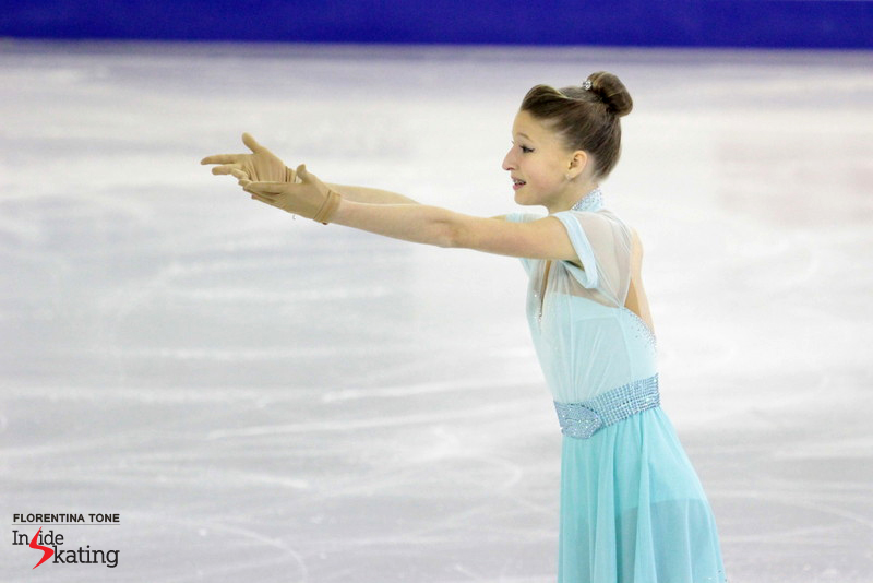 Maria Sotskova finished the competition in Barcelona on the 4th place