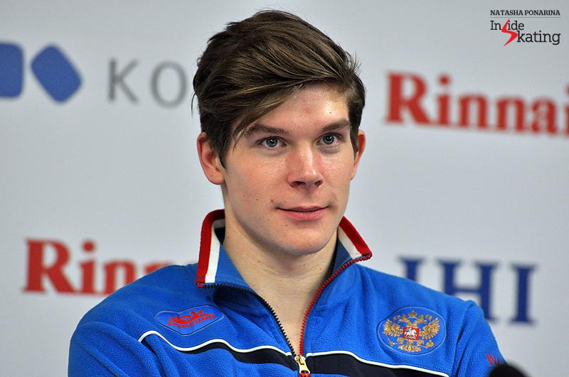 Sergey Mozgov press conference after SP