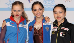 PHOTO-GALLERY: the ladies' event at the Junior Grand Prix Final in Barcelona