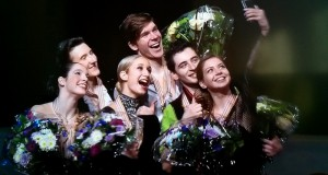 Anna Yanovskaya and Sergey Mozgov danced their way to the gold in Tallinn