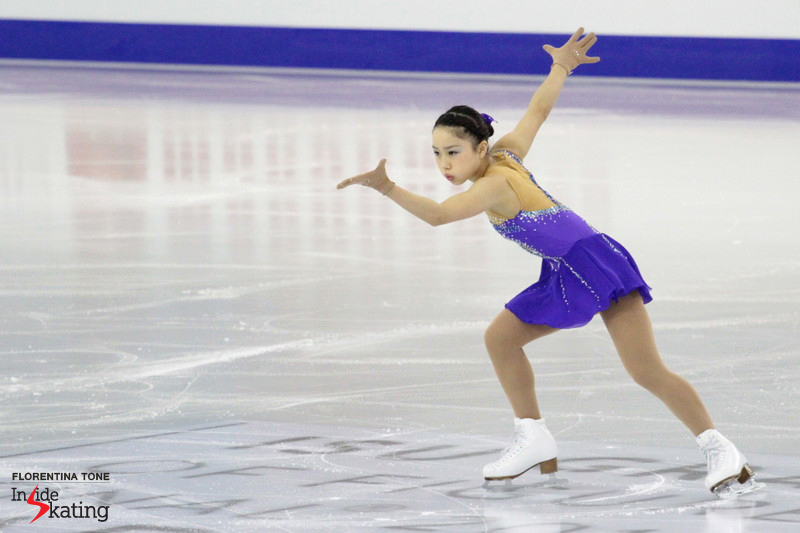 "For this season's free program, Wakaba Higuchi chose to skate to Gershwin's ""Piano Concerto in F"""