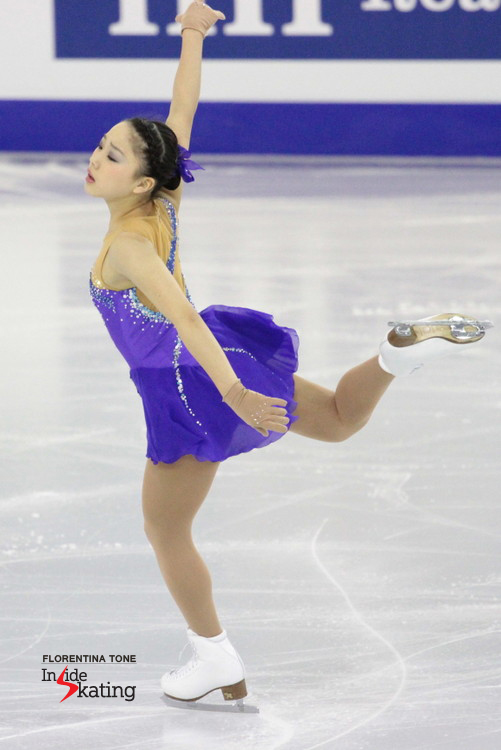 Happy ending for Wakaba Higuchi in Barcelona, at Junior Grand Prix Final: a bronze medal for the (then) 13-year old from Tokyo
