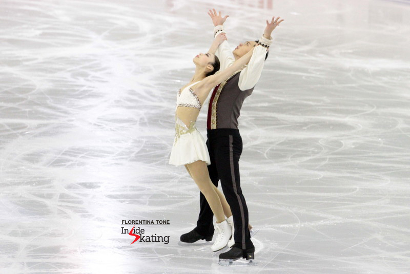 "In December, Xiaoyu Yu and Yang Jin skated in the first (senior) Grand Prix Final of their career, finishing the event on the fifth place (short program to ""Yulunga-Spirit Dance"")"
