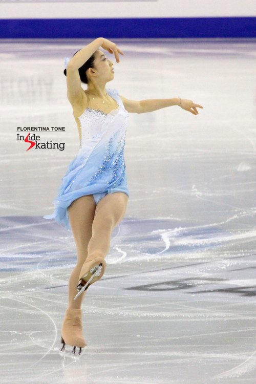 "Japan's Yuka Nagai chose to skate to music from ""East of Eden"" in the short program this season"