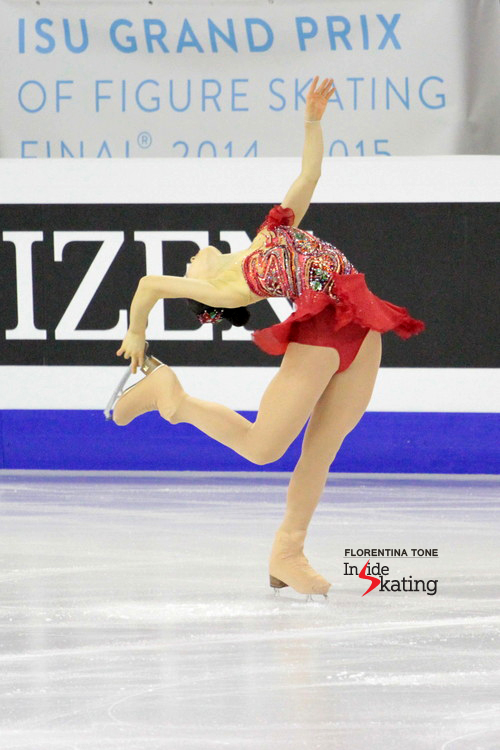 Yuka finished the event in Barcelona on the 5th place