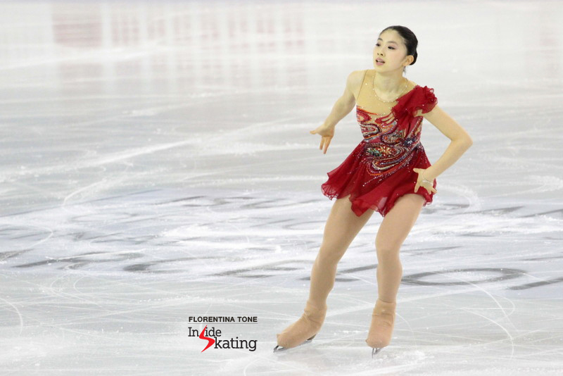 "Yuka's free skate in Barcelona, to ""Introduction and Rondo Capriccioso"""