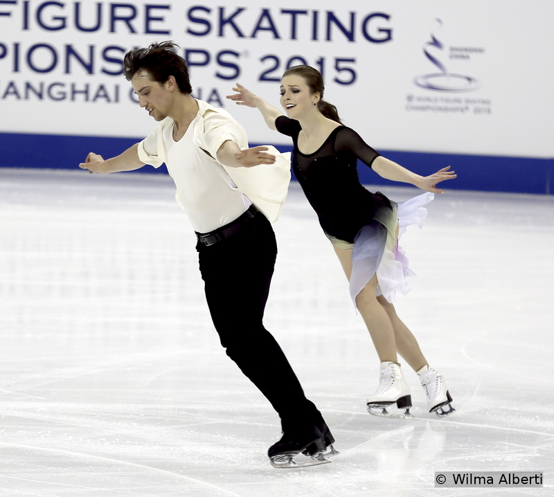 """Alexandra Paul and Mitchell Islam practicing their airy free dance in Shanghai, to """"In Your Eyes"""" by Peter Gabriel"""