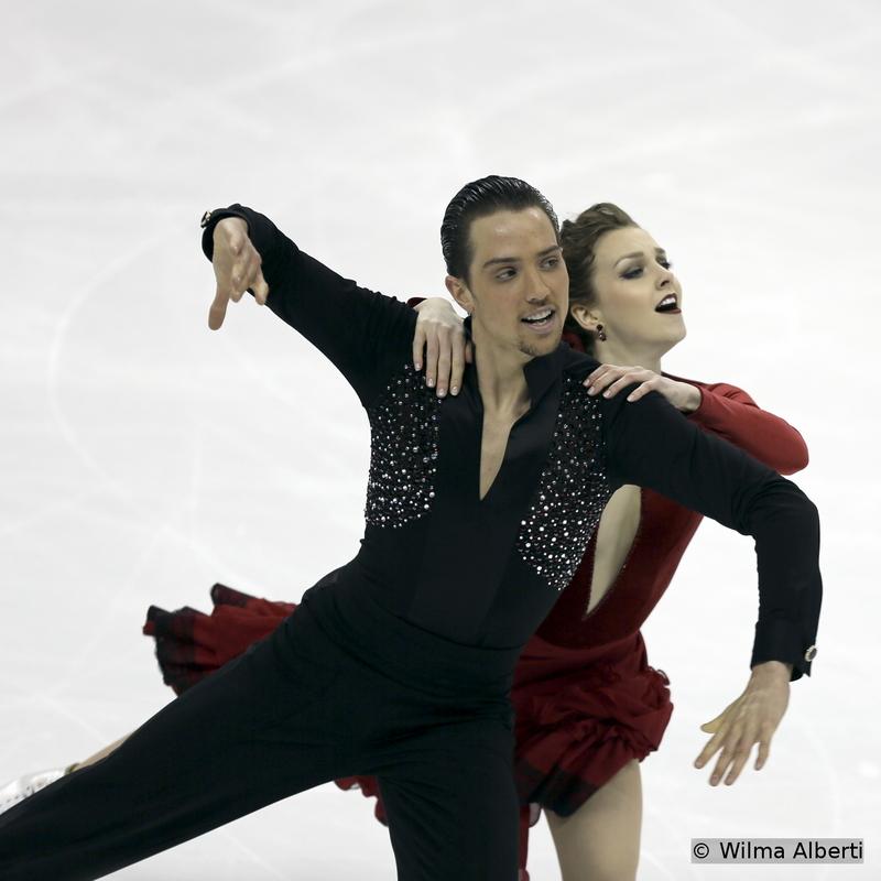 Alexandra Paul and Mitchell Islam - short dance