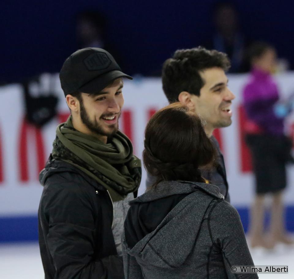 Fun, fun, fun: Anna Cappellini, Guillaume Cizeron and Luca Lanotte