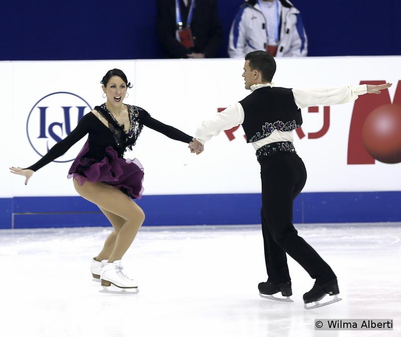Charlene Guignard and Marco Fabbri - short dance