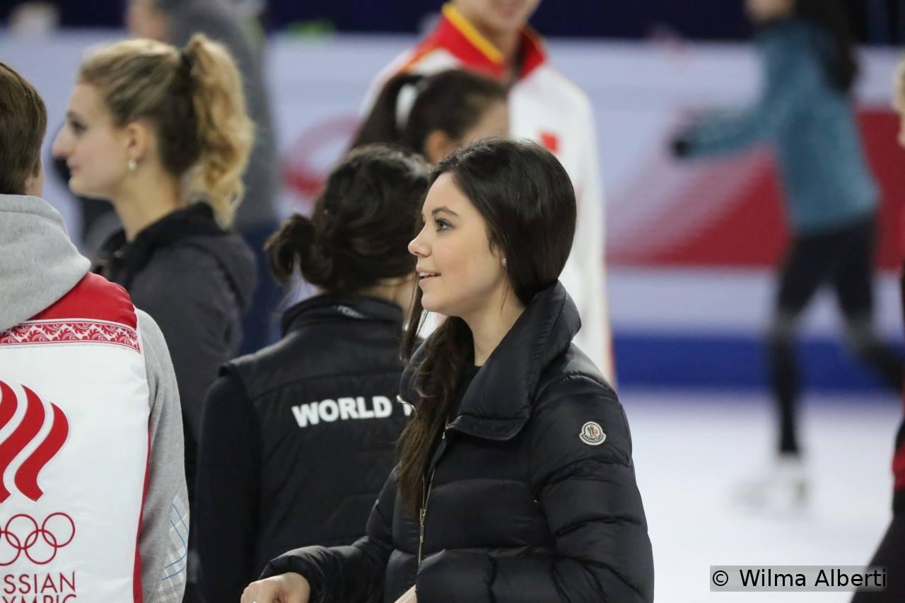 A smiling Elena Ilinykh