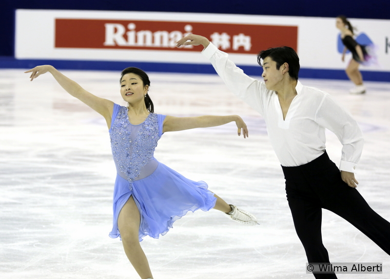"""A joy to the eyes – and ears: Maia Shibutani and Alex Shibutani and their """"Blue Danube"""" free dance (practice session in Shanghai)"""