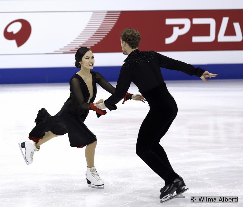 Madison Chock and Evan Bates - short dance