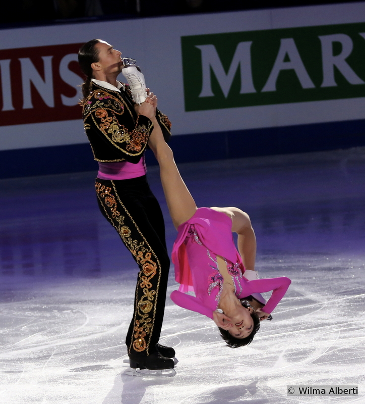 """Yuko Kavaguti and Alexander Smirnov finished the pairs event in Shanghai on the 5th place and skated in the Gala a bold routine, full of character and attitude, to """"Habanera"""" from """"Carmen"""" by Georges Bizet"""