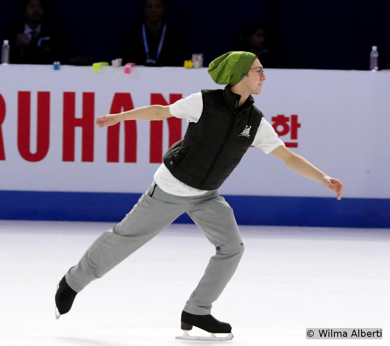 Jason Brown – and his green cap