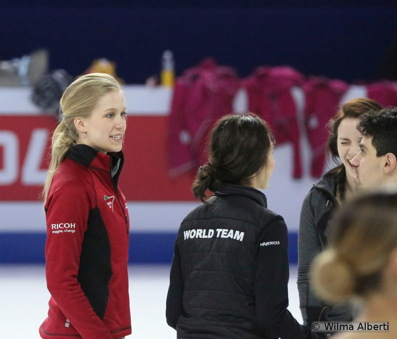 Kaitlyn, Madison, Anna, Luca