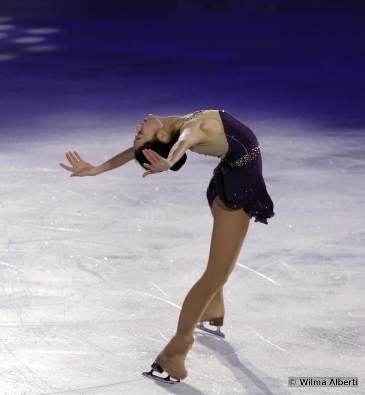 Zijun - and her impressive Ina Bauer