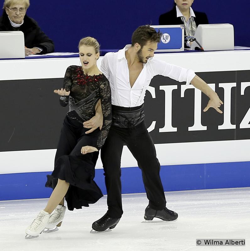 Gabriella Papadakis and Guillaume Cizeron - short dance