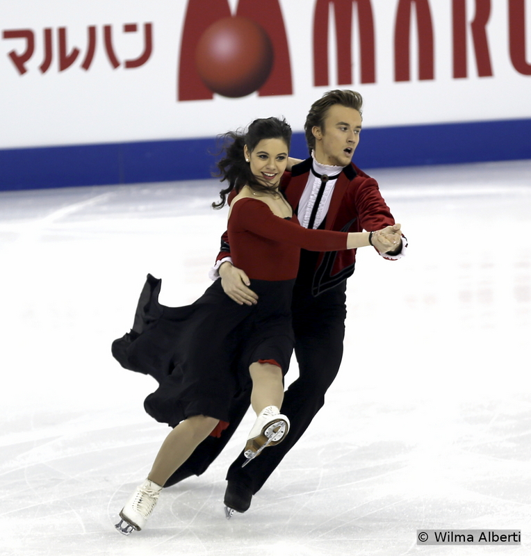 2 Elena Ilinykh and Ruslan Zhiganshin SD