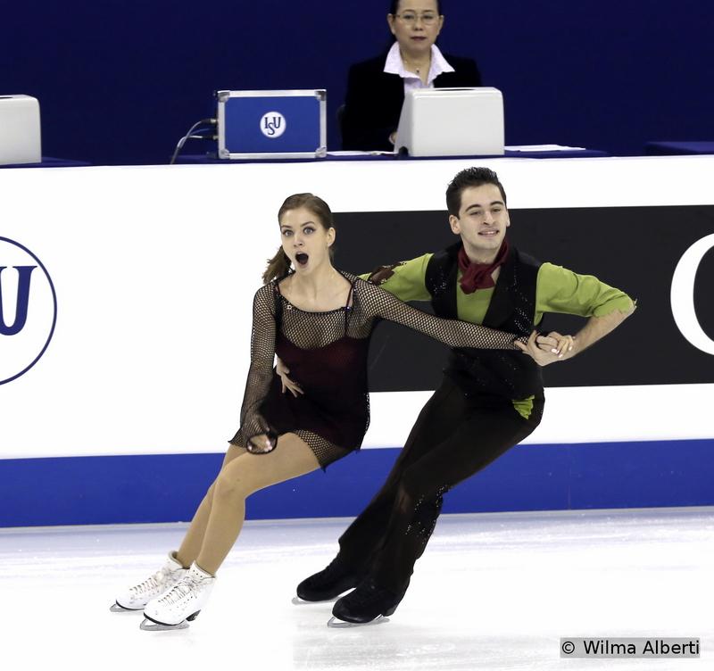 Alexandra Nazarova and Maxim Nikitin - free dance