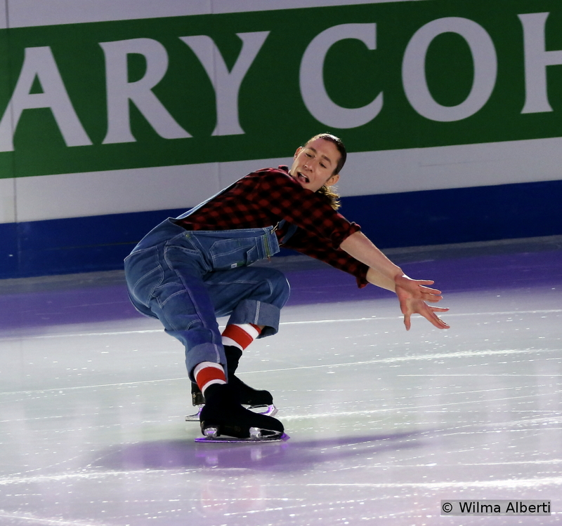 """Now that's an entertainer: Jason Brown finished the event in Shanghai on the 4th place and skated to """"Cotton-Eyed Joe"""" by Rednex in the exhibition. One thing is sure: Jason is absolutely loved by the audience"""