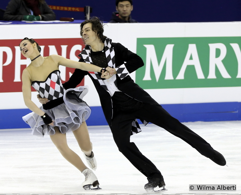 Federica Testa and Lukas Csolley - free dance