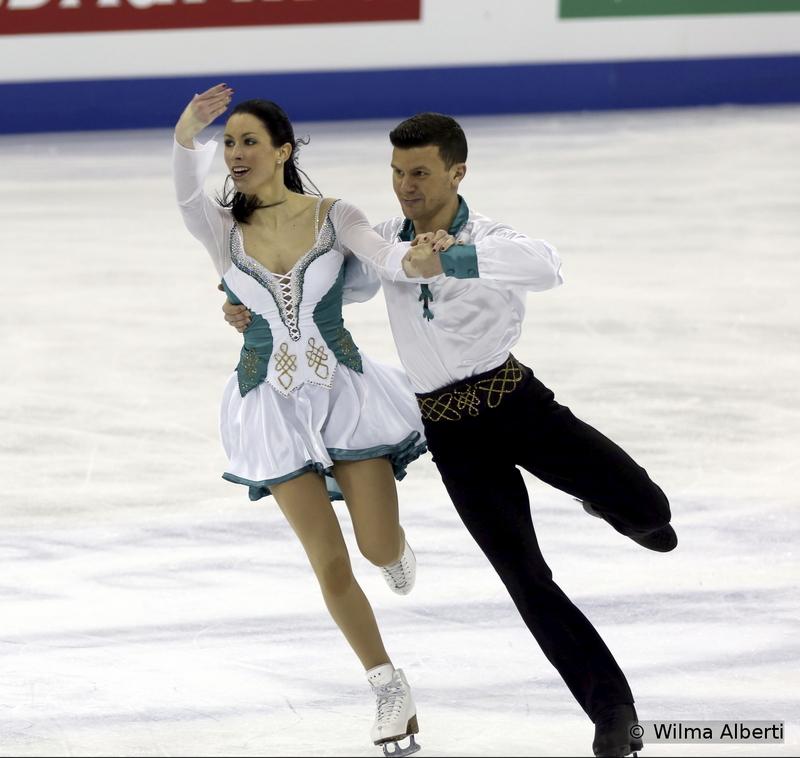 Charlene Guignard and Marco Fabbri - free dance