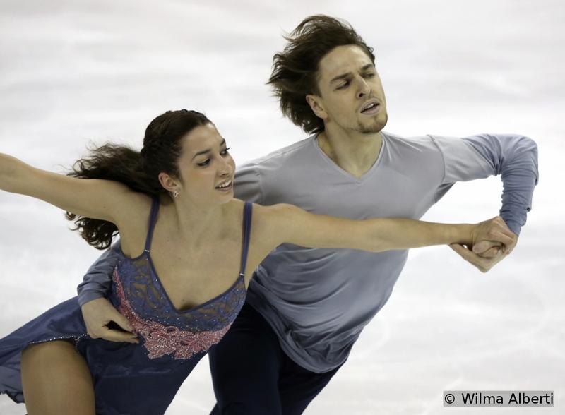 Ksenia Monko and Kirill Khaliavin - free dance